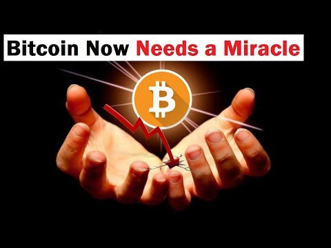 Bitcoin Needs A Miracle… Is This It?