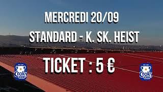 Coupe de Belgique / STANDARD - K. SK. HEIST