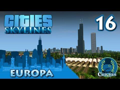 Cities Skylines - Europa - Estación Central #16 en español