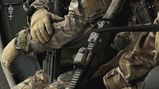 Försvarsmaktens specialförband övar på Gotland