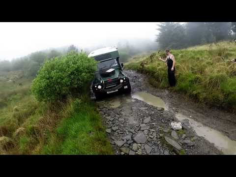 Bug out vehicles uk off road in wales teaser