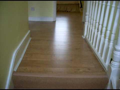 Used Quick Step Laminate Flooring Harvest Oak Colour Youtube