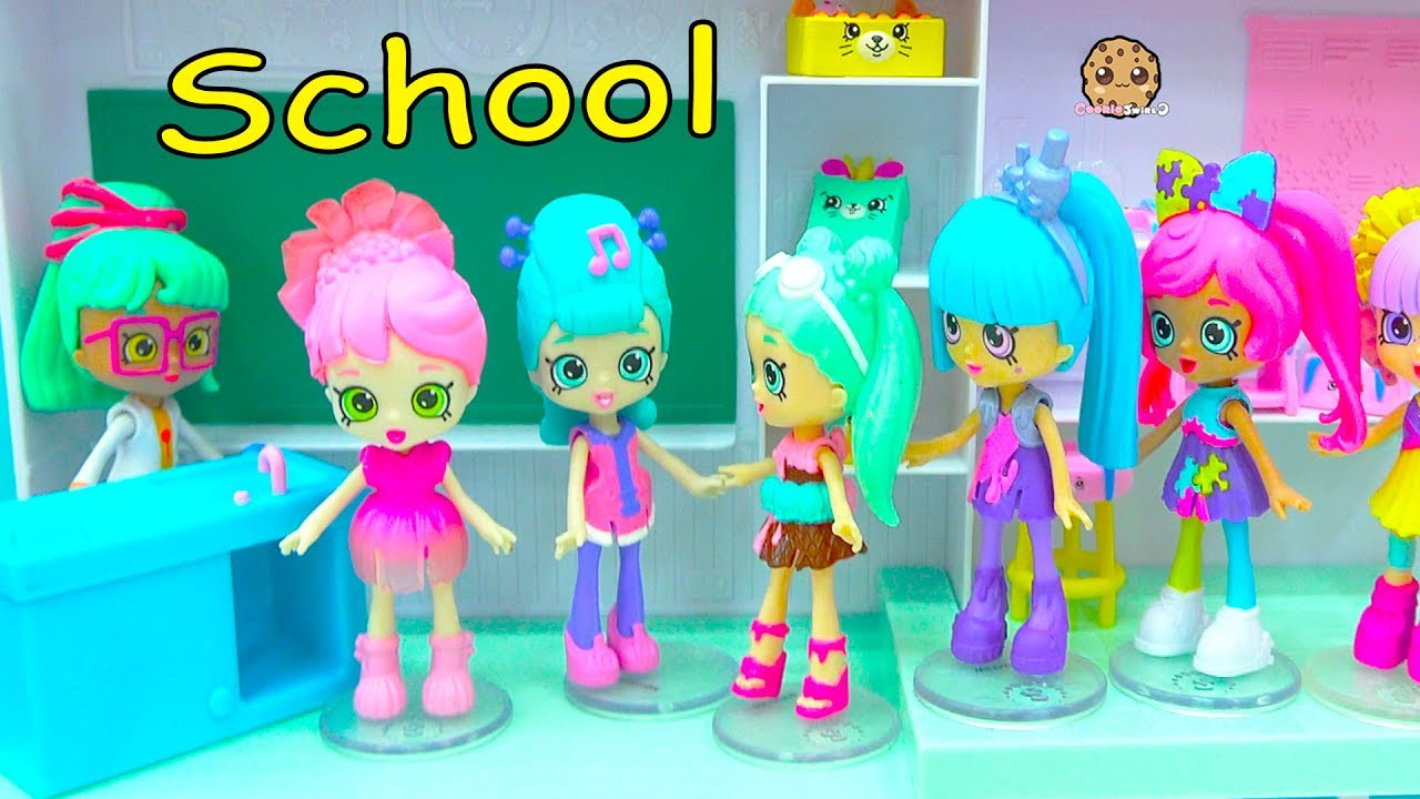 New Shopkins Shoppies Students At Happyville High School