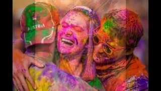 Праздник красок Индия