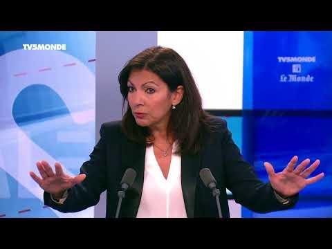 Anne Hidalgo, Maire de Paris, invitée d'Internationales s'exprime sur sa lutte contre la pollution