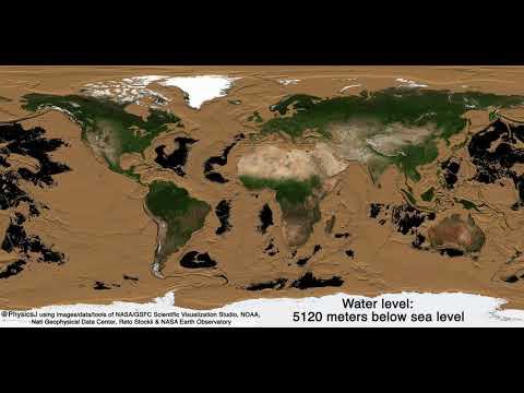 NASA「地球の海水、全部抜いてみた」