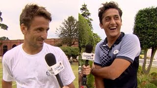 Bungee Jumping, Skinny Dipping and Baby Eels with Tommy Robredo and Nicolas Almagro