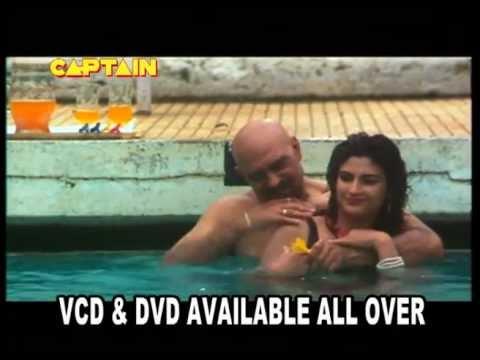 Kanika In Swimming Pool With Amrish Puri  Dhaal