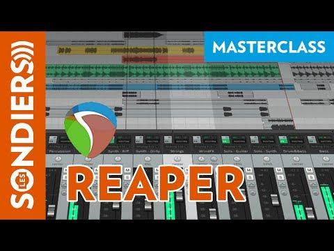 Introduction à Reaper - Les masterclass du jeudi
