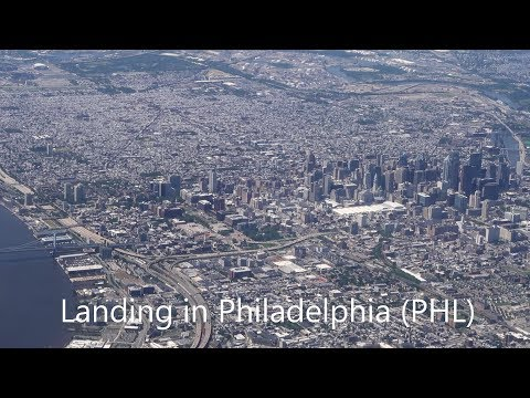 Landing in Philadelphia  (PHL) - June 2018