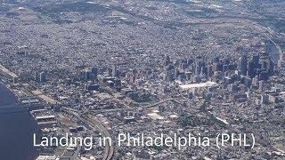 Landing in Philadelphia  (PHL) - June 2018