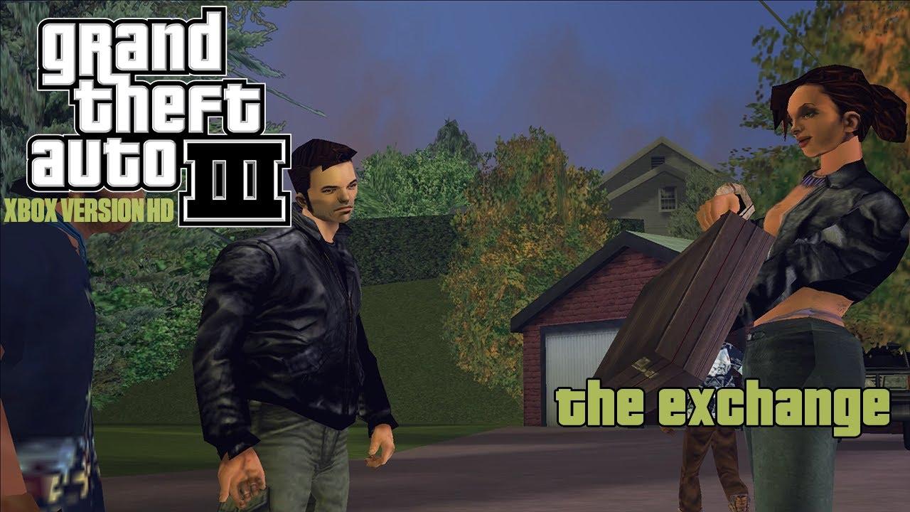 GTA III Xbox Version HD Mod Mission #48 - The Exchange