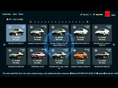 Gran Turismo 6 - Every Car in GT6 (Dealership)