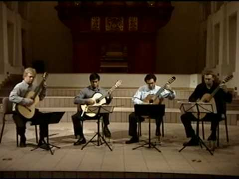 classical guitar quartet ASU
