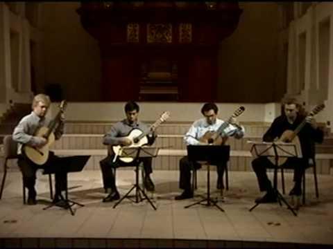 classical guitar quartet ASU
