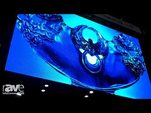 InfoComm 2015: Esdlumen Features MN37S P3.75 Indoor Stage Rental LED Display