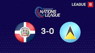 #CNL Highlights - Dominican Republic 3-0 Saint LUCIA