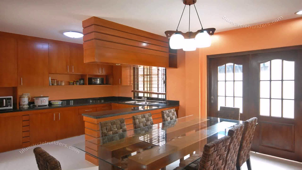 Philippines small house interior design youtube for Small kitchen design pictures philippines