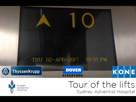 Tour Of The Lifts @ Sydney Adventist Hospital