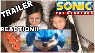 Sonic The Hedgehog (2019) - OFFICIAL TRAILER REACTION!!