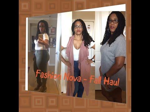 Fashion Nova  FALL HAUL & TRY ON  Plus Size 14