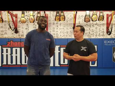 Zhong Luo Cage Fighting Series 02/MFC Tony Charles Pre fight interview.