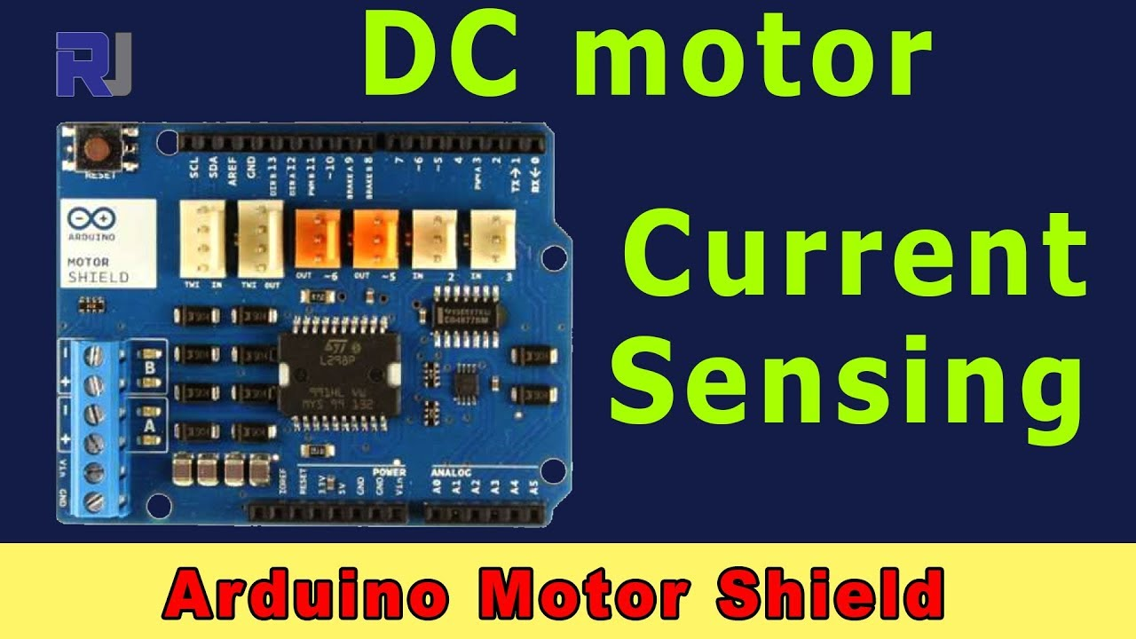 Current Sensing with Arduino Motor Shield