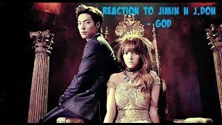 Reaction to JIMIN N J.DON (지민 엔 제이던) - GOD Music Video