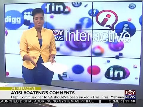 Ayisi Boateng's Comments - Joy News Interactive (6-11-17)