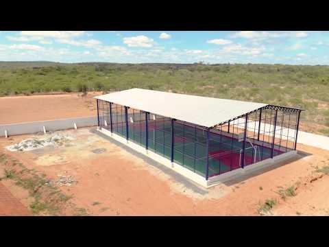 Construção de Quadra Poliesportiva coberta na comunidade Araças II