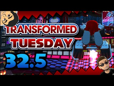 Transformed Tuesday 32.5 - How to RIP - The Secret Race VS TheRealSonicFan
