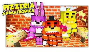 SIAMO PRIGIONIERI DEGLI ANIMATRONICS NELLA LORO PIZZERIA! - Minecraft ITA w/ Luca