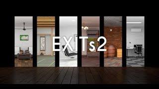 Room Escape Game - EXITs2 Walkthrough