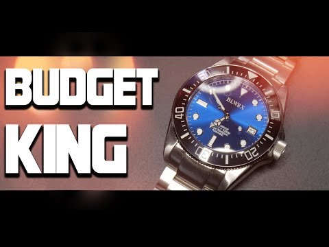 The BEST Rolex Homage! New Diver Watch Budget King, BLWRX
