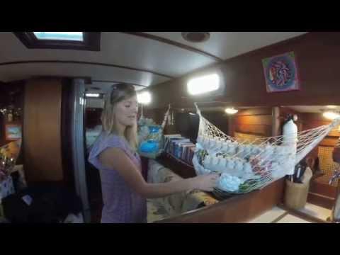 """Tour of a Passage-ready Tartan 37 - Eleutheria """"Ellie"""""""