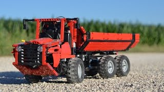 LEGO Technic Articulated Dump Truck with Suspension