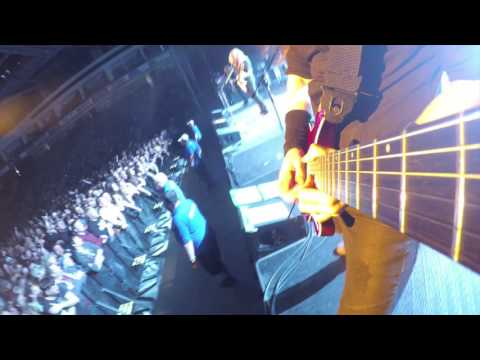 GoPro footage of Kiko Loureiro playing Dystopia live.