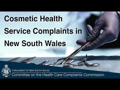 Report On Cosmetic Health Service Complaints In New South Wales