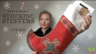 Low Waste Christmas Stockings For Her || Sustainable Christmas 2019
