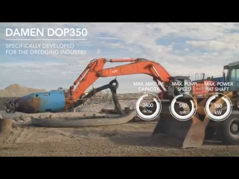 DOP submersible dredge pump creates new German dyke using offshore sand
