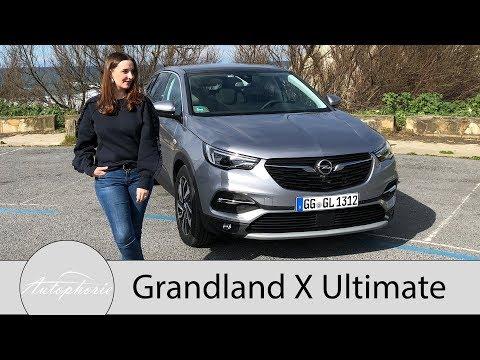 2018 Opel Grandland X Ultimate 2.0 Diesel (177 PS) Fahrbericht - Autophorie