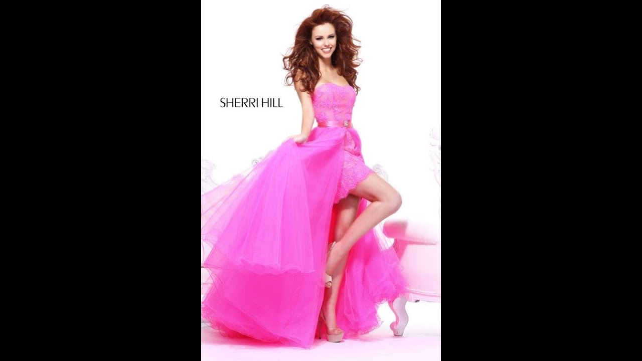 Pink Prom Dresses 2013 - Long Pink Prom Gowns 2013 - YouTube