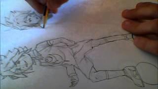 Como dibujar a Gazel y Torch (INAZUMA ELEVEN)