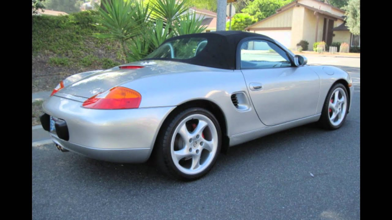 2002 porsche boxster s youtube