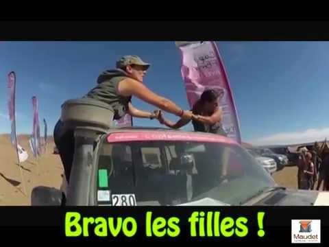FEES DU DESERT EQUIPAGE 280 CAP FEMINA AVENTURE 2013 MAROC