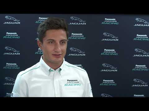 Jaguar's all electric I-TYPE 2 racecar unveiled - Interview Mitch Evans