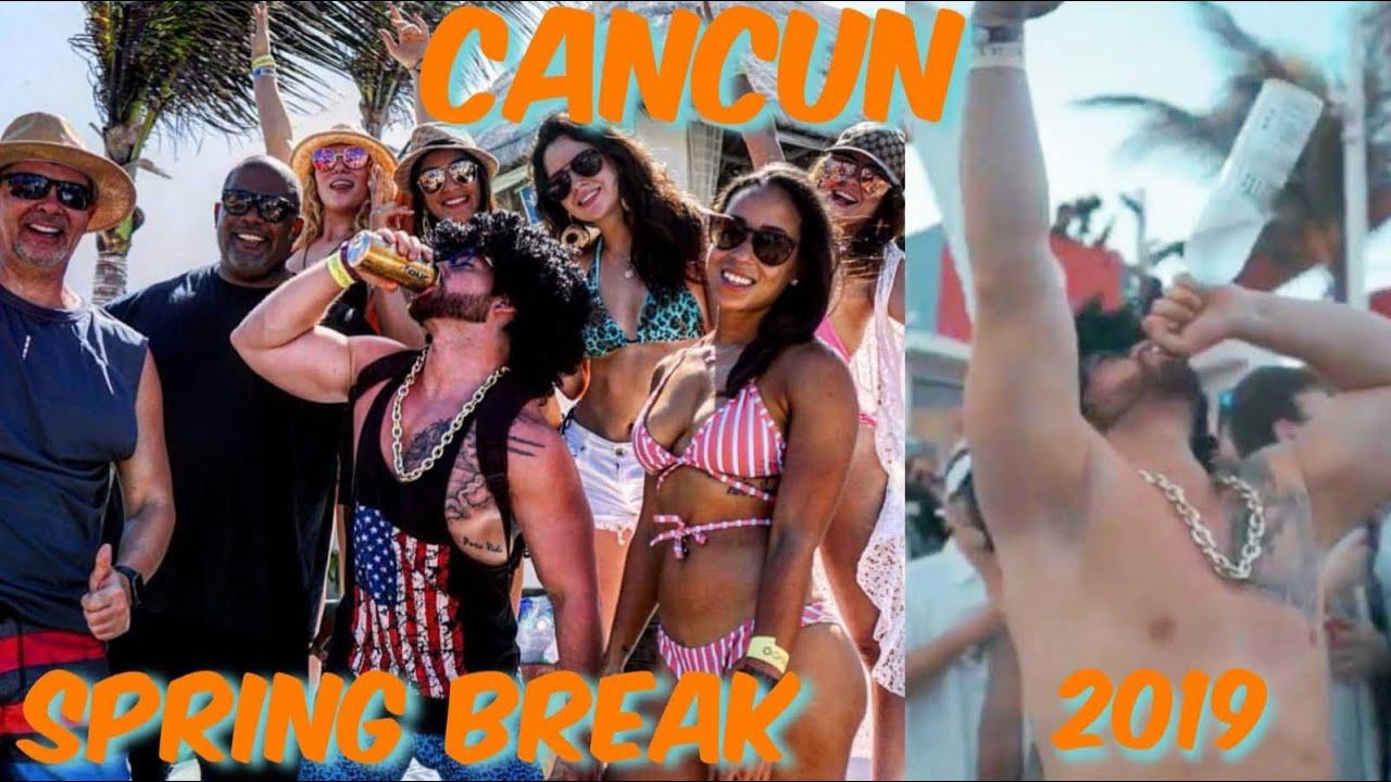 Grand Oasis Cancun Spring Break 2020.2019 Spring Break In Cancun Mexico At Grand Oasis