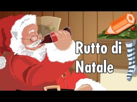 Immagini Simpatiche Babbo Natale.Babbo Natale Con Rutto A Sorpresa Video Divertenti Cartoline Net