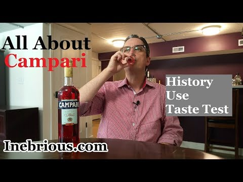 What is Campari? - History, Use, Taste Test - Inebrious