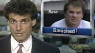 """CNN Sports Tonight"" broadcast of 8/24/1989: Pete Rose Banished"